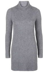 **Polo Neck Jumper Dress by Glamorous