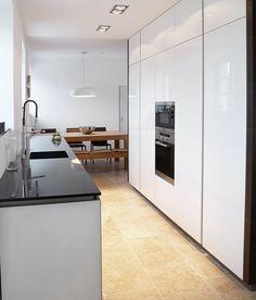 INTUO KÜCHE IN ALTEM HERRENHAUS Kitchen Island, Modern, Divider, Room, Design, Furniture, Home Decor, Mansion, Bedroom