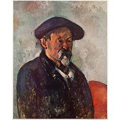 Paul Cezanne, Self-Portrait With Beret Cezanne Portraits, Paul Cezanne Paintings, Philadelphia Museum Of Art, Camille Pissarro, Paul Gauguin, Museum Of Fine Arts, French Artists, Famous Artists, Art World