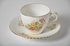VTG Spencer Stuart Stevenson Real de porcelana taza de té de China de hueso del platillo Inglaterra
