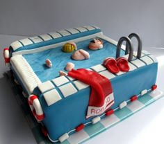 Waterpolo cake