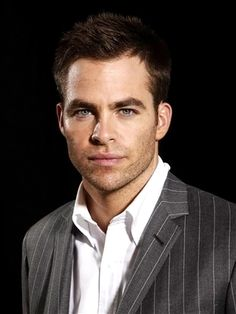 Chris Pine: Those eyes. Those lips. That perfectly chiseled face...Need I say more?