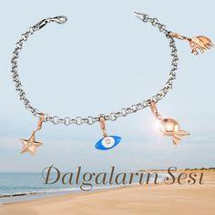 Dalgaların sesi... #bileklik #bracelet #charm #wave #sound #music #muzik #dalga #pirlanta #diamond #gold #style #fashion