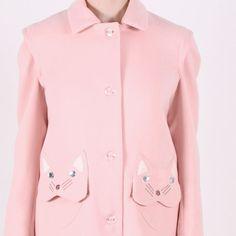Vivetta Cat Coat Pink