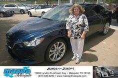https://flic.kr/p/KaeGV4 | #HappyBirthday to Joyce from AJ Springer at Mazda of Mesquite! | deliverymaxx.com/DealerReviews.aspx?DealerCode=B979