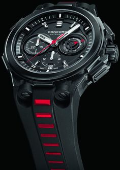 Concord Neo-Black C2 chronograph watches