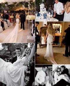 Fergie and Josh Duhamel #Celebrity #Wedding