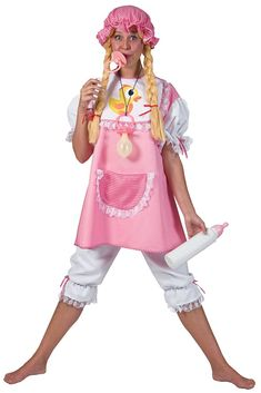 Adult Baby Girl Costume - Candy Apple Costumes - Funny Costumes