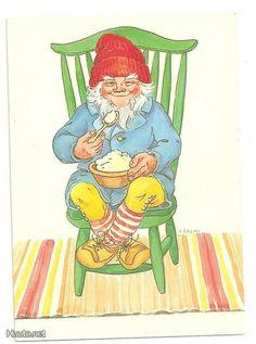 Jaanas Gut o Mixed - Elves And Fairies, Lucky Charm, Goblin, Gnomes, Troll, Cute Art, Finland, Woodland, Christmas Cards