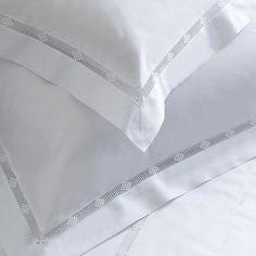 Arlette Embroidered Bed Linen--Cologne & Cotton--BEDROOM--Bed Linen #Cologne & Cotton #Bed Linen