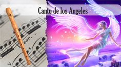 Partitura Canto de los Ángeles Flauta Dulce