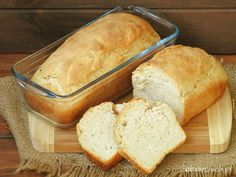 Chleb dla początkujących Good Food, Cheese, Baking, Food Heaven, Drink, Brot, Beverage, Bakken, Backen