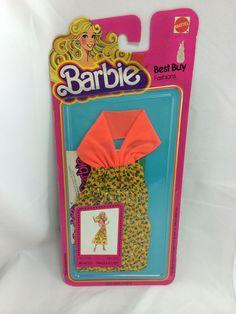 1978 Barbie Best Buy Fashions No. 2770 Dress SEALED