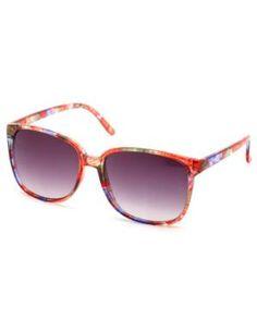 Floral print sunglasses!