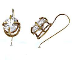 Brass, silver + quartz