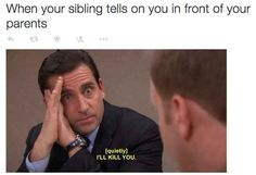 Inspiring picture funny, michael scott, steve carell, the office, toby. Resolution: Find the picture to your taste! Just For Laughs, Just For You, Funny Jokes, Hilarious, Funny Sayings, Growing Up With Siblings, Steve Carell, Have A Laugh, Memes