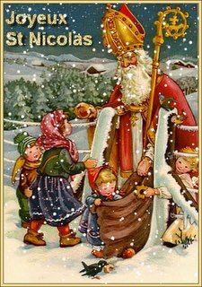 *Saint-Nicolas* cela se fête beaucoup en Alsace, France.