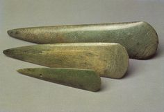 Breton neolithic jadeite axes evidence of prehistoric exchange in europe.
