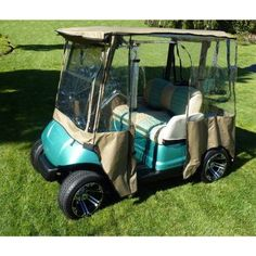 Golf Carts Ideas | Madjax RIPTIDE 1994Up BlackOrange TwoTone Front on