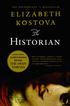The Historian by Elizabeth Kostova, great vampire book that plays with the Dracula legend