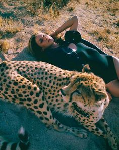 """""""Savage State"""" Angela Lindvall for Marie Claire France August 2015"""