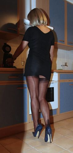 Young my first pantyhose simply
