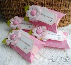 Imaginisce Valentine Pillow Boxes by BethAnne61 - Cards and Paper Crafts at Splitcoaststampers