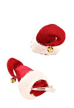 de123c5b30b Small Santa Claus Hat Mini Hair Clip
