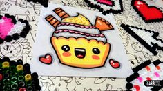 How to Draw Kawaii - Cupcake with cookies by Garbi KW