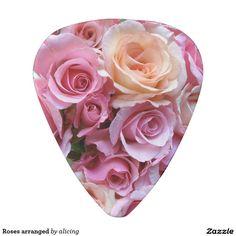 Roses arranged guitar pick