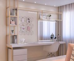 Image may contain: Internal area Teen Bedroom ideas - Jugendzimmer - Room Makeover, Room Design, Room Interior, Home Decor, Small Room Bedroom, Apartment Decor, Room Decor, Trendy Apartment, Bedroom Decor