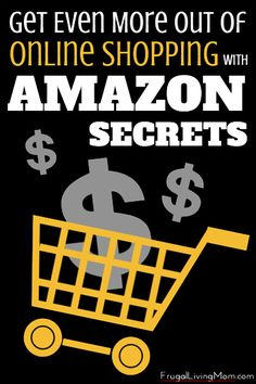 Shopping on Amazon saves me a ton of time and money.  And these tips helped me save even more! Get Even More Out of Online Shopping with Amazon Secrets
