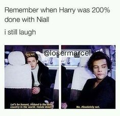 Harry Was 110% Done With Niall;