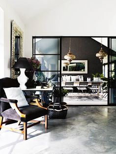 Tour an Incredibly Stylish Weekend Retreat via @domainehome