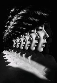 ANTONIO MORA (aka mylovt) ~ a Spanish artist who combines with talent portraits photographed in various landscapes :: gif by Luciana Urtiga.