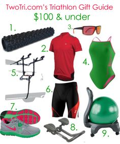 Awesome gift ideas for triathletes!  #TwoTri