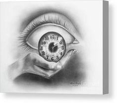 Holding Time Canvas Print / Canvas Art by Lena Auxier