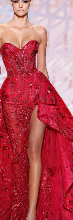 Zuhair Murad Couture 2015 runway // Pinned by Dauphine Magazine x Castlefield - ...