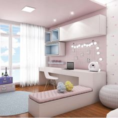 This image may contain: living room and indoors - - Cute Bedroom Ideas, Cute Room Decor, Girl Bedroom Designs, Dream Rooms, Dream Bedroom, Aesthetic Room Decor, Stylish Bedroom, New Room, House Rooms