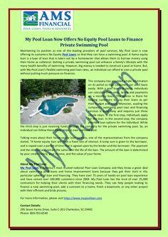 50 Press Release For My Pool Loan Ideas Loan Company Home Improvement Loans Loan