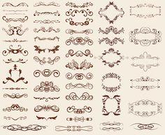 free vector art swirls