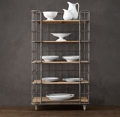 Circa 1900 Baker's Rack Tower, For my gourmet and absolutely stylish kitchen I will have one day!