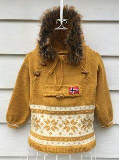 Vilde Mønsterhefte, Tunika genser jakke | Tovet genser