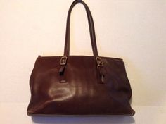 "EUC Vintage ""COACH"" Legacy West Market Large Tote Brown Leather #Coach #TotesShoppers"