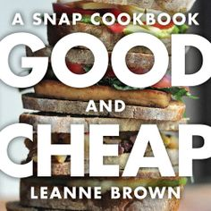 Here is a cookbook made directly at people who live on food stamps or have low incomes. Lots of healthy meals. They even have a vegetarian cookbook