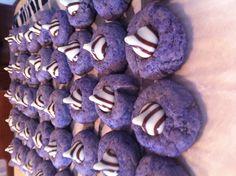 Purple Zebra Sugar Cookies