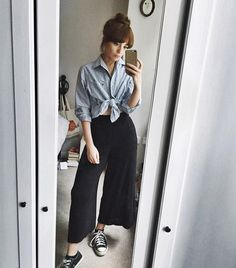 5 New Ways To Style That Blue And White Striped Shirt Everyone Owns | Fashion | The Debrief
