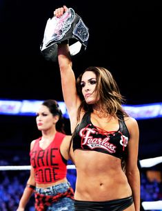 The official home of the latest WWE news, results and events. Get breaking news, photos, and video of your favorite WWE Superstars. Brie Bella Wwe, Nikki And Brie Bella, The Bella Twins, Tamina Snuka, Corpo Sexy, Wwe Couples, Wwe Women's Division, Wwe Wallpaper, Stephanie Mcmahon