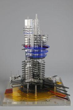 Aldo Loris Rossi | Estructura urbana de desarrollo vertical | 1968