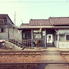 Gare ferroviaire de Toyama Echinachi Misat), Station d'Ecchu Misato